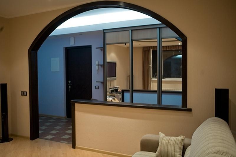 Пустые дверные проемы в квартире - это стильно и красиво